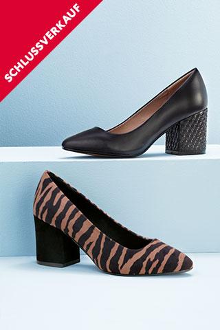 Schuhe-Schlussverkauf