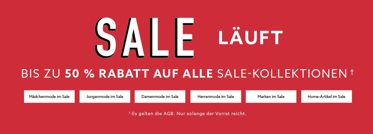 Bis zu 50 % Sale Banner